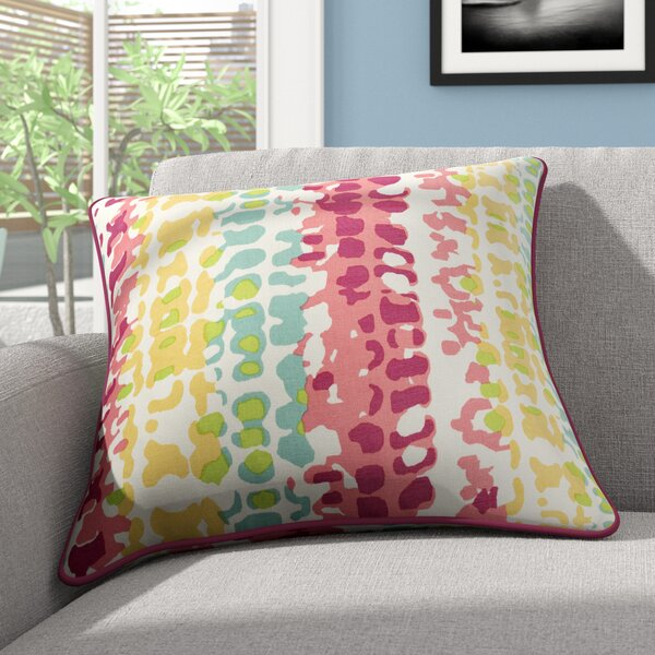 Villa Square 100% Cotton Throw Pillow by Zipcode Design